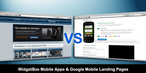 Build Mobile Apps & Landing Pages with WidgetBox & Google